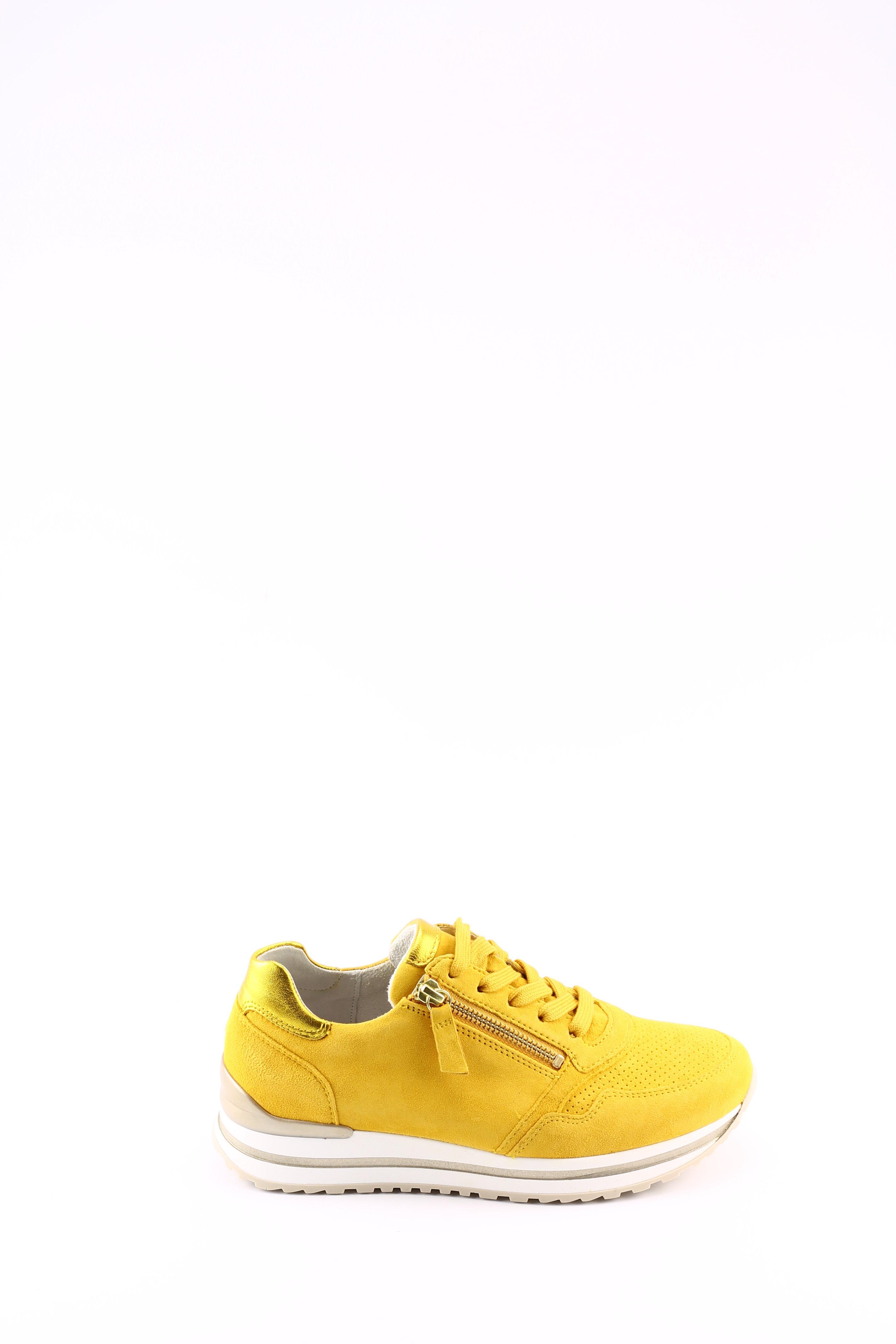 Gabor 46.528 sneaker geel suede