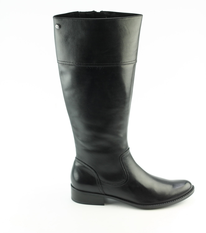 Caprice 25522 21 zwart dames lange laarzen | Theo Jansen